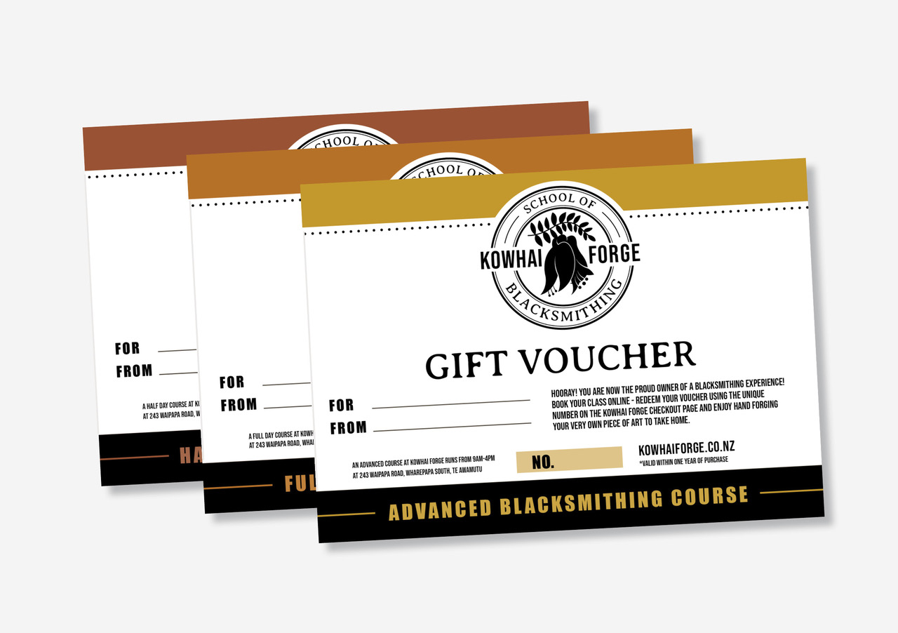 Blacksmithing Voucher